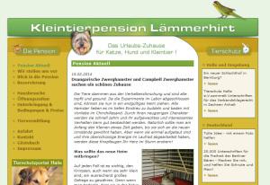 Alte Pensionsseite